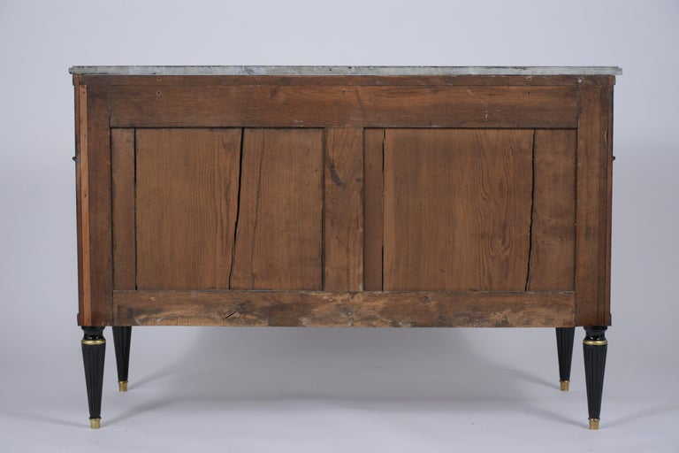 19th Century Marble Top Secretaire For Sale 6
