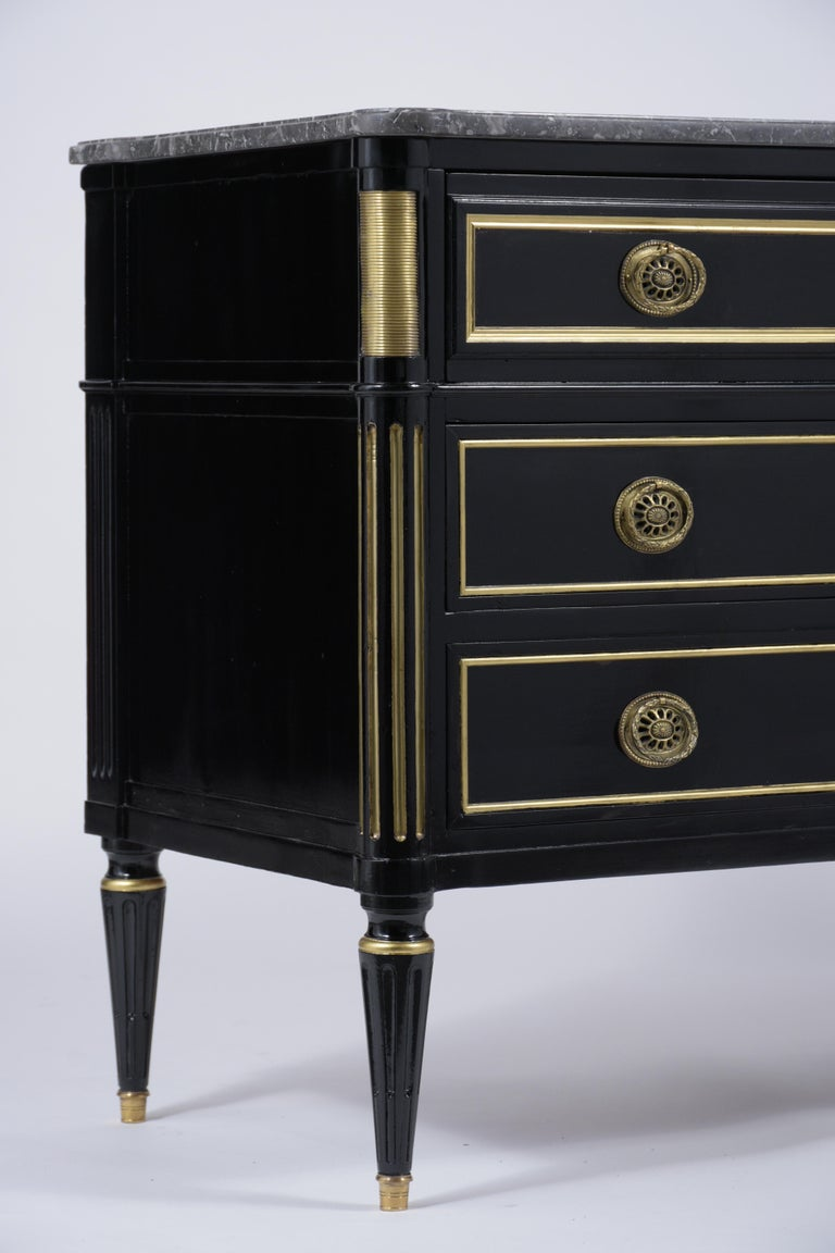 19th Century Marble Top Secretaire For Sale 5