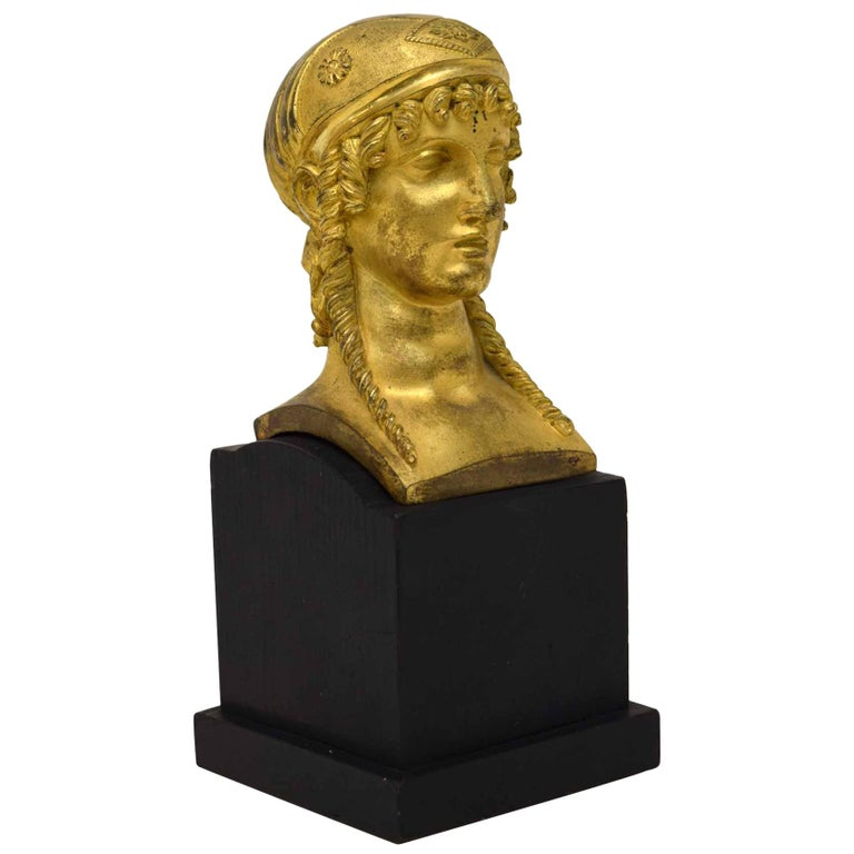 French Empire Bronze of a Woman For Sale