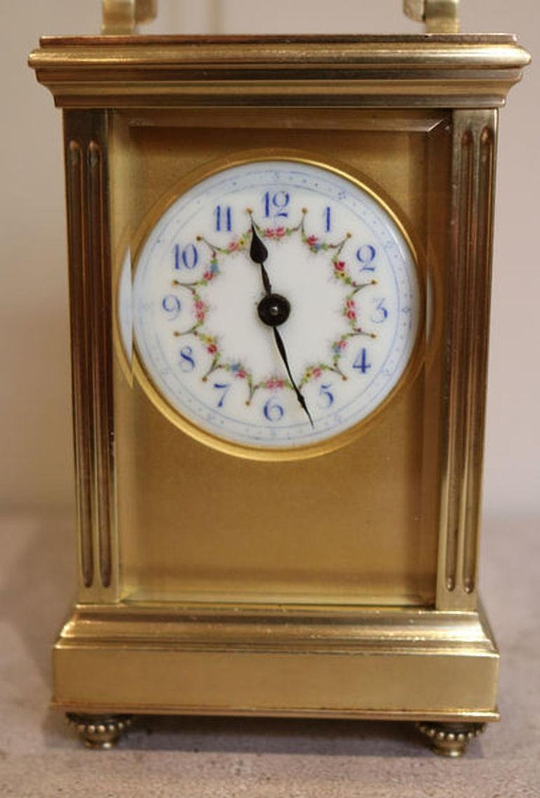 French Empire Carriage Clock In Good Condition For Sale In Beaconsfield, GB