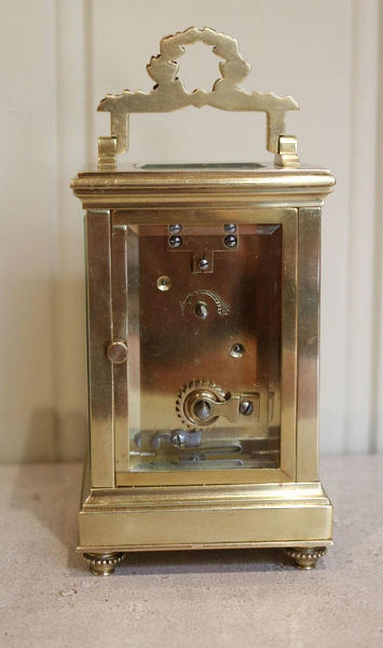 French Empire Carriage Clock For Sale 1