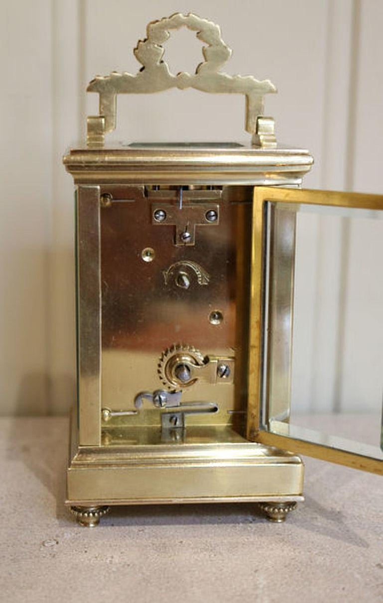 French Empire Carriage Clock For Sale 2