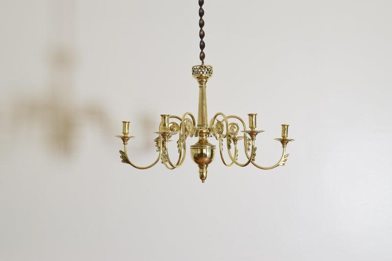 Französischer Kronleuchter Antik ~ Französisches empire gegossenes messing 6 leuchten kronleuchter aus