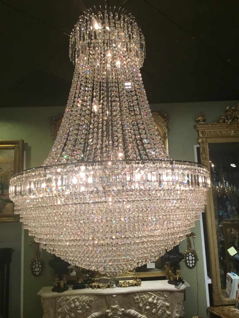 Austrian French Empire Chandelier For Sale