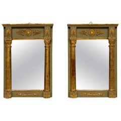French Classical Parcel-Gilt Wall Mirrors