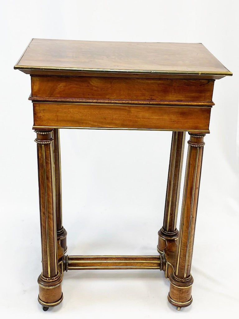 19th Century French Officers Campaign Desk  For Sale 4