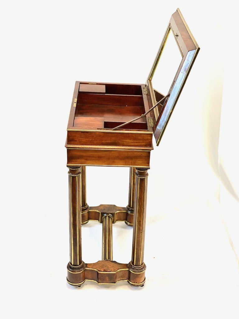 Empire 19th Century French Officers Campaign Desk  For Sale