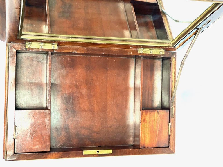 19th Century French Officers Campaign Desk  For Sale 3