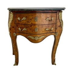 French Empire Louis XV Style Small Commode Chest of Drawers