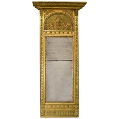 French Empire Mirror in Giltwood, circa 1810