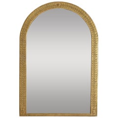 French Empire Period Giltwood and Gilt-Gesso Mirror, Early 19th Century