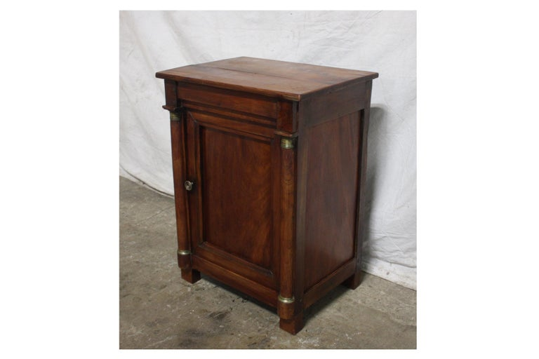 French Empire small cabinet.