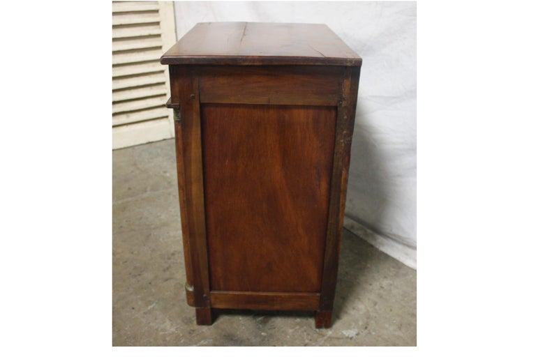19th Century French Empire Small Cabinet