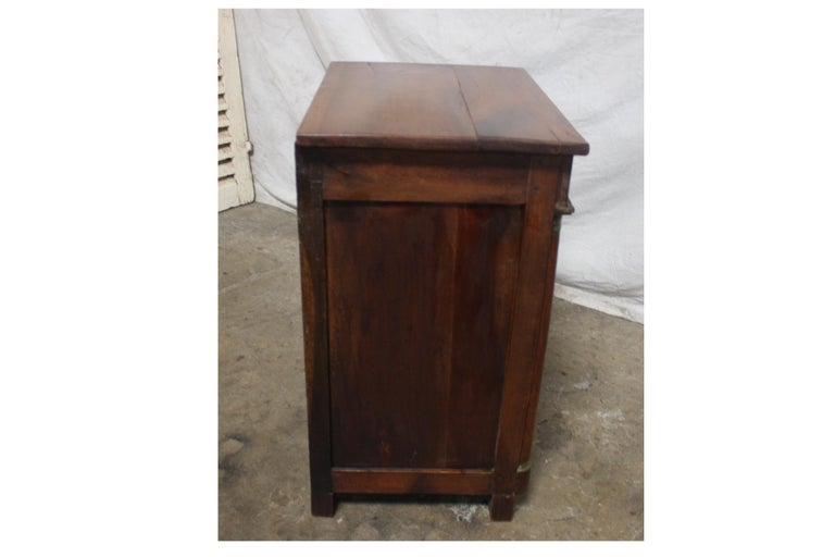 French Empire Small Cabinet 1