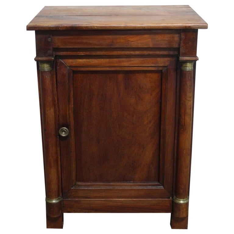 French Empire Small Cabinet