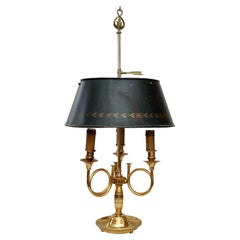 French Empire Style Adjustable Bouillotte Lamp, circa 1880