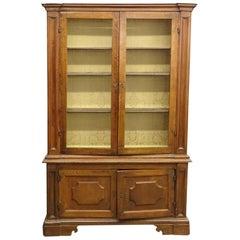 French Empire Bookcase in Walnut