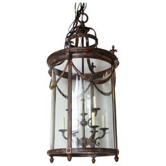 French Empire Style Bronze Lantern