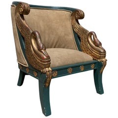 French Empire Style Childs Chair
