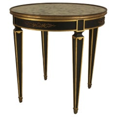 French Empire Style Gilt End Table, Attributed to Jansen