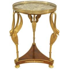 French Empire Style Guéridon Table