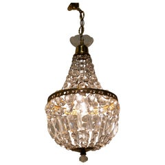 French Empire Style Tent Chandelier