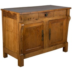 French Empire Style Walnut Buffet