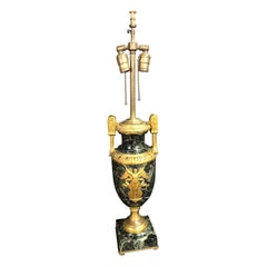 French Empire Urn Form Table Lamp