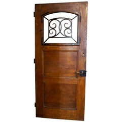 French Entry Door, circa 1880