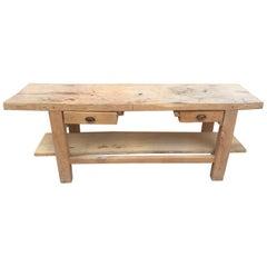 "French ""Etabli"" Carpenter's Workbench"