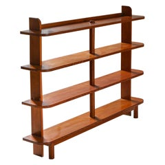 French Étagère Bookcase in Elm Wood