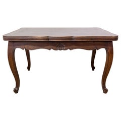 French Extending Dining Table Louis XV Style, circa 1960