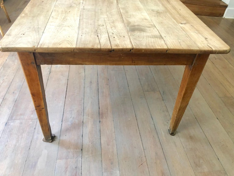 French Farm Table, 19th Century For Sale 1