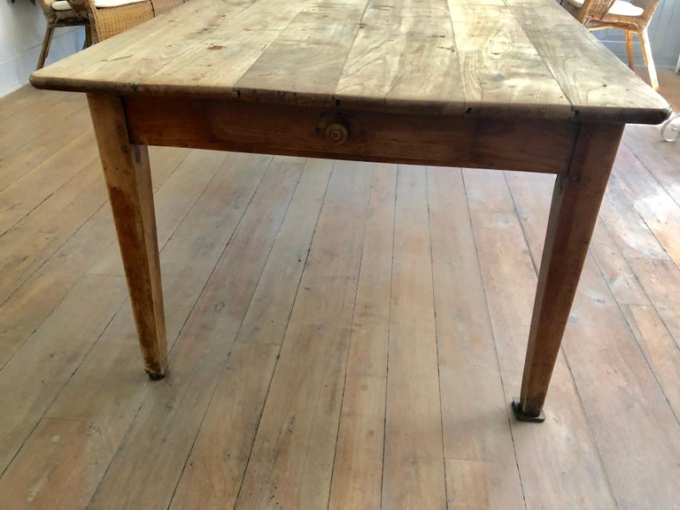 French Farm Table, 19th Century For Sale 2