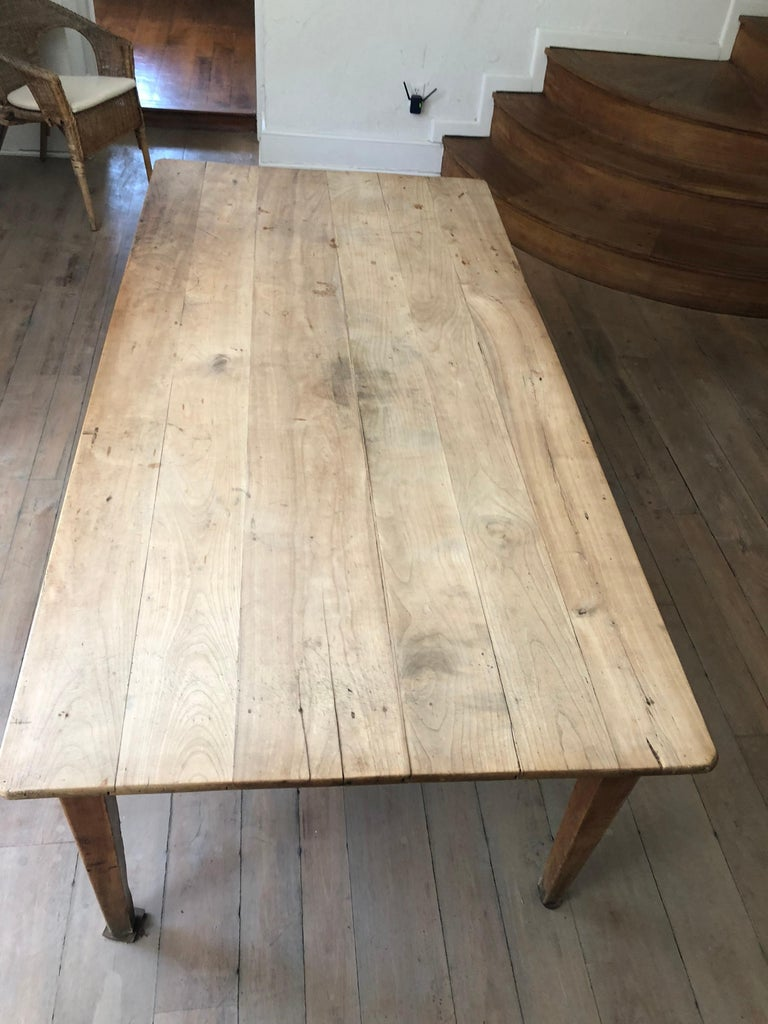 French Farm Table, 19th Century For Sale 3