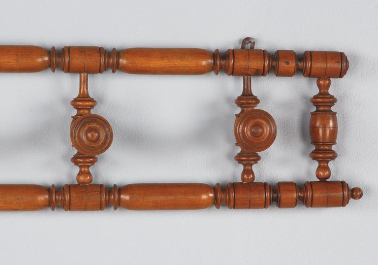 French Faux Bamboo Coat Hanger, 1920s For Sale 7