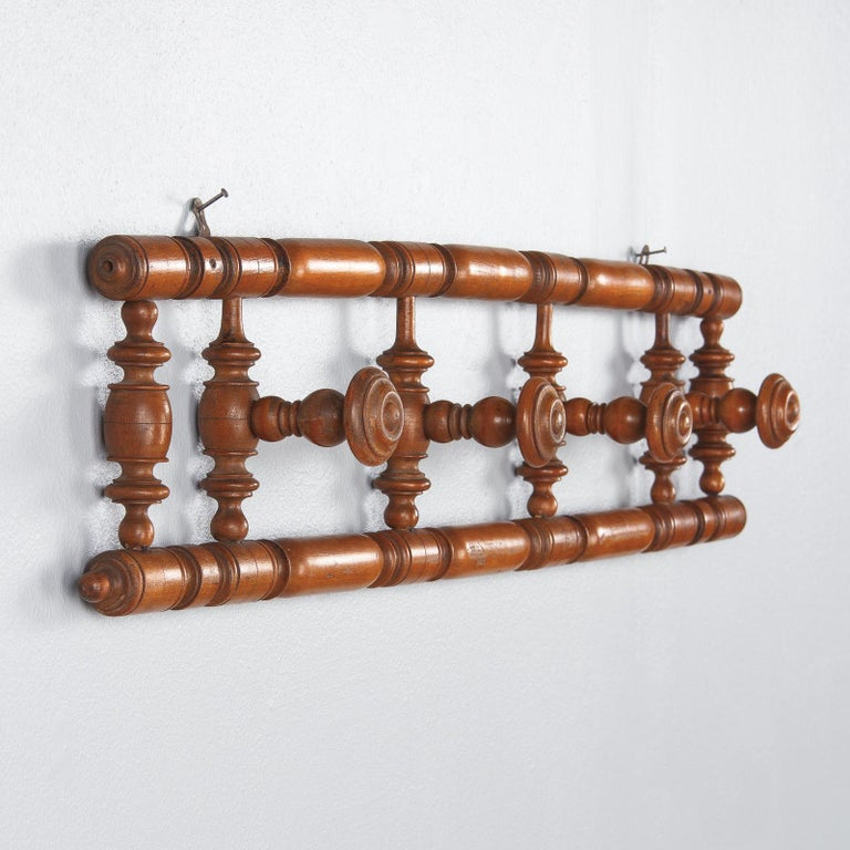 French Provincial French Faux Bamboo Coat Hanger, 1920s For Sale