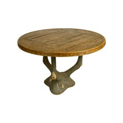 French Faux Bois Table