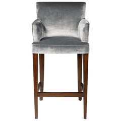 French Fitzroy Stool, 20th Century