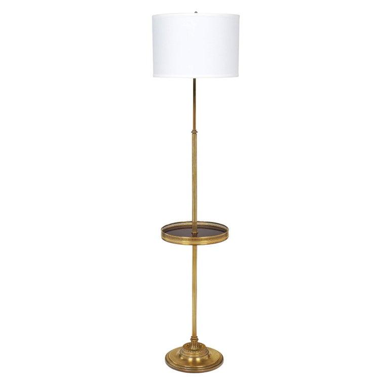 French Floor Lamp by Designer Maison Jansen