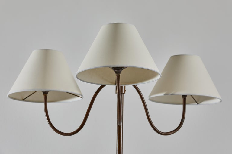 Mid-Century Modern French Floor Lamp For Sale