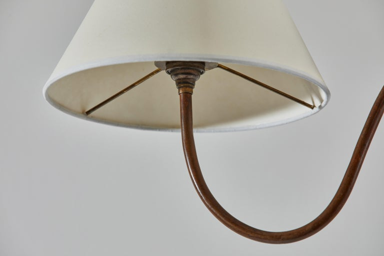 Brass French Floor Lamp For Sale
