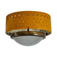French Flushmount Ceiling Light