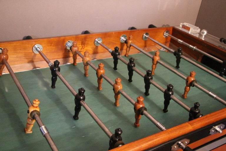Mid-Century Modern French Foosball Table For Sale
