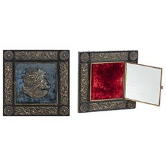 French Frame and Mirror, 1878, 19th Century