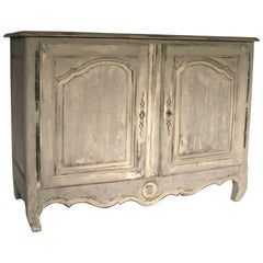 French from Provence Early 19th Century Elegant Shabby Chic Country Cupboard