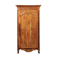 French Fruitwood Louis XV Style  Bonnetiere, Early 19th Century