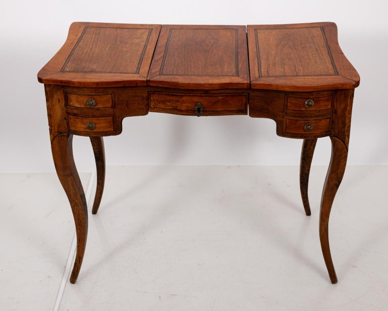 French fruitwood vanity or