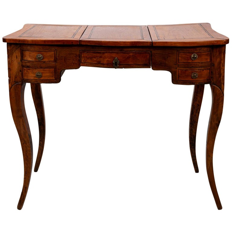 French Fruitwood Poudreuse For Sale