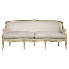 French Gabriela Louis XV Sofa, 20th Century